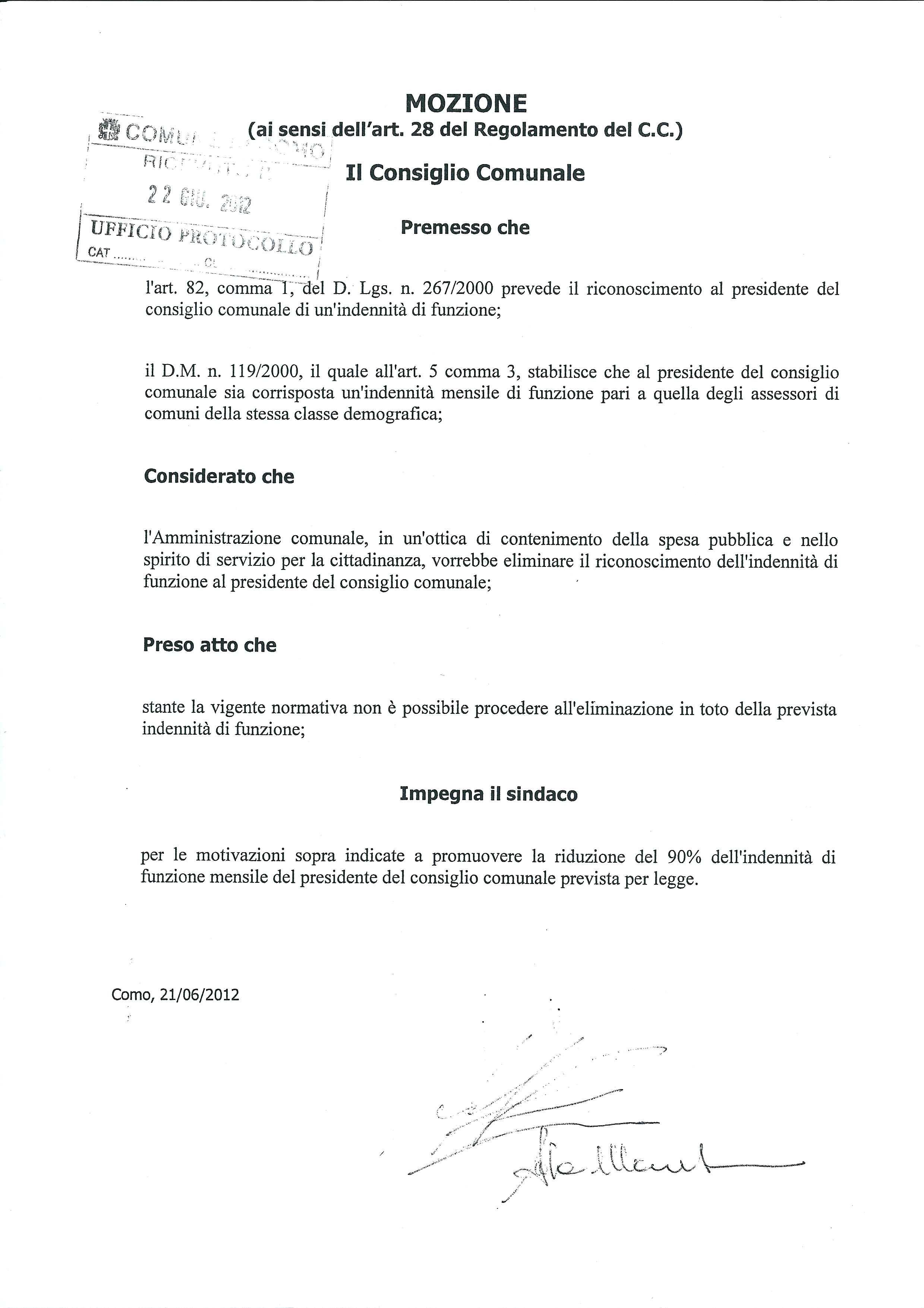 Delibera-Fragolino-decurtazione-stipendio