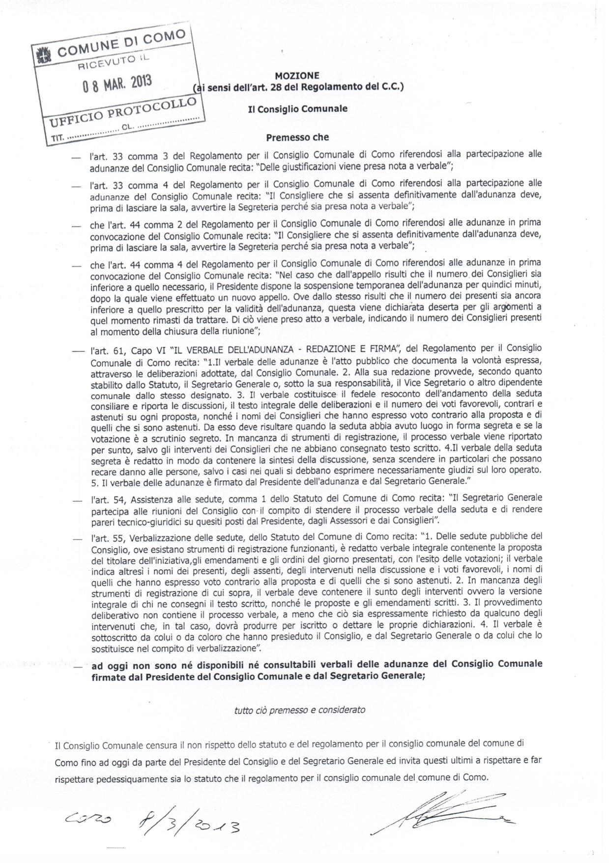 20130308-mozione-verbali-mancanti-e-censura-al-presidente-del-consiglio-e-al-segretario-generale